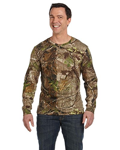 Code V Officially Licensed Realtree(r) Camouflage Long-Sleeve T-Shirt>4XL APG