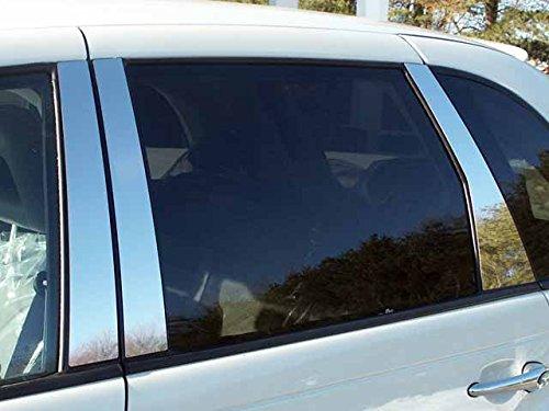 (QAA FITS PT Cruiser 2001-2002 Chrysler (6 Pc: Stainless Steel Pillar Post Trim Kit, 4-Door) PP41701)