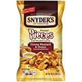 Snyder's of Hanover Pretzel Pieces, Honey Mustard and Onion, 8 Ounce (Pack of 6)