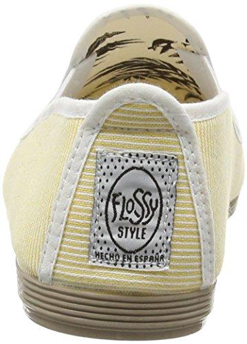 Flossy San Javier, Alpargatas para Mujer Amarillo (Yellow 160)