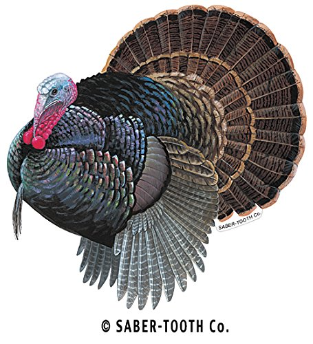 Turkey Decal/sticker - Wildlife Collection (Small-4.75 x 5-Facing as Shown)