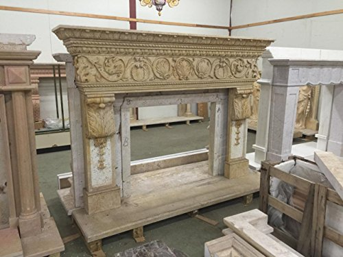 Marble Fireplace Mantel - 3