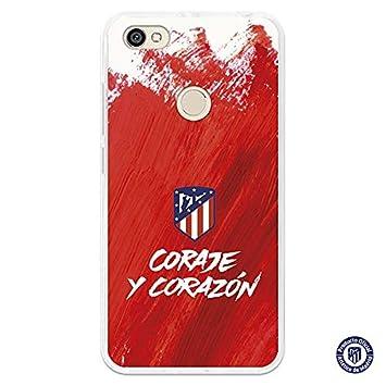 Carcasa Oficial Atlético de Madrid Coraje y corazón Xiaomi ...
