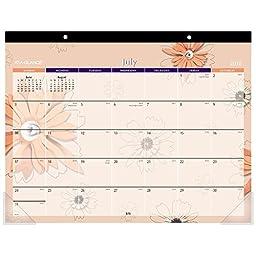 AT-A-GLANCE Academic Year Desk Pad Calendar, July 2016 - July 2017, 21-3/4\