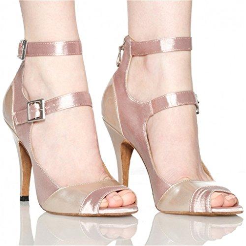Chaussures Salle De De La Monie Danse Des Bal Femmes Moderne Latin Salsa Rose Mode Tango De À w8P7Wqf