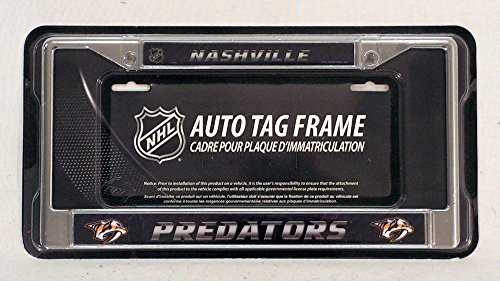 Nashville Predators License Plate Frame - 7