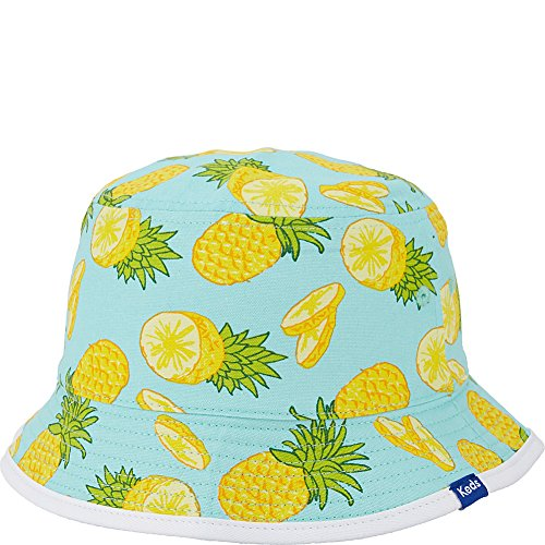 Keds Womens Reversible Bucket Hat Pineapple Painterly Fruit