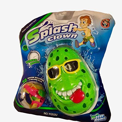(YG SPORT Splash Clown Water Balloon Toy, Fun Outdoor Party Game for Children/Kids)