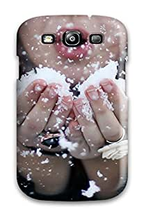 New Style Tpu S3 Protective Case Cover/ Galaxy Case - Blowing Snow