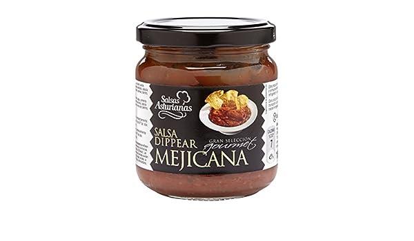 Salsas Asturianas Salsa Mejicana - 190 gr - [Pack de 6]: Amazon.es: Alimentación y bebidas