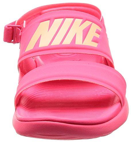 Nike Womens Wmns Tanjun Sandal, Racer Rosa / Solnedgang Glød Racer Rosa / Solnedgang Glød