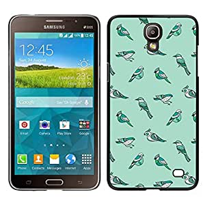 // PHONE CASE GIFT // Duro Estuche protector PC Cáscara Plástico Carcasa Funda Hard Protective Case for Samsung Galaxy Mega 2 / Species Evolution Teal Winter /