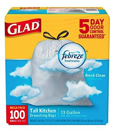 Glad Kitchen Bags 100 - 5