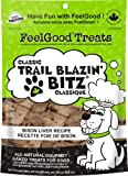 FeelGood Trail Blazing Bitz Classic Bison Liver Recipe, 300gm Stand Up Pouch