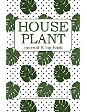 House Plant Journal & Log Book: The Ultimate Journal For All Your Plant Tracking Needs - Monstera Polka Dot Theme - 50 Fill-In Plant Profiles - Lined Pages - Wish List Plants - Indoor Gardening Diary