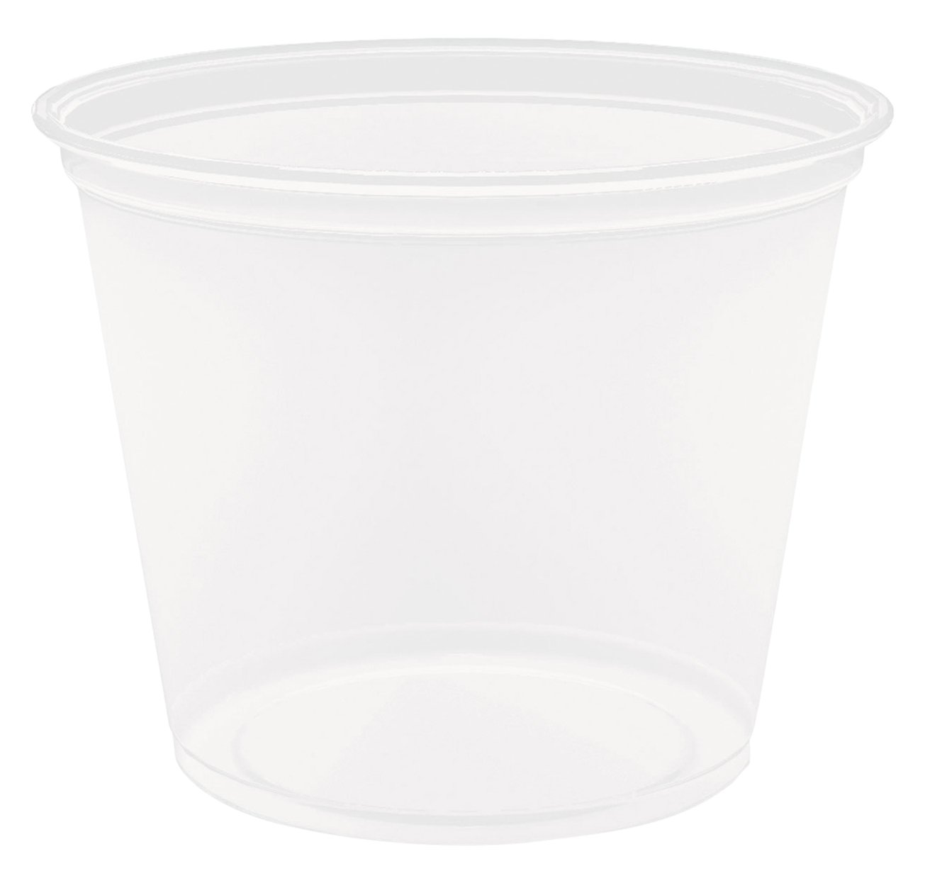 Dart 550PC 5.5 oz Clear PP Portion Container (Case of 2500) by DART