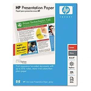 Amazon Com Hp Color Laser Presentation Paper Glossy