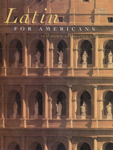 Latin for Americans, Book 1, 8th Teachers Edition