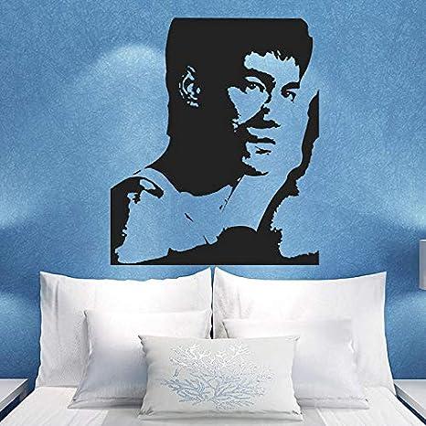 Removable Bruce Lee Reino Prohibido retrato Home Decor Vinyl ...