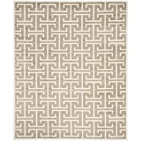 Safavieh Amherst Collection AMT404S Wheat and Beige Indoor/Outdoor Area Rug (8′ x 10′)