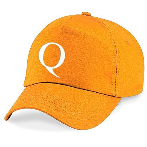 4sold Hat Q Z Orange Gorra Alphabet Escuela Niños A Niños Bordado rxqwrvXSg