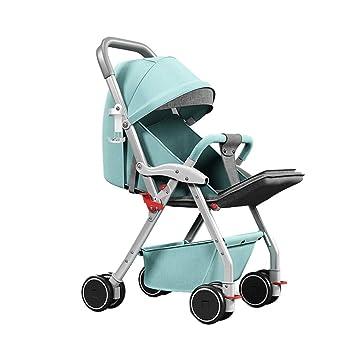 Amazon.com: Cochecito de bebé de paisaje alto puede sentarse ...