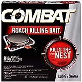 Combat Roach Killing Bait, Large Roach B...