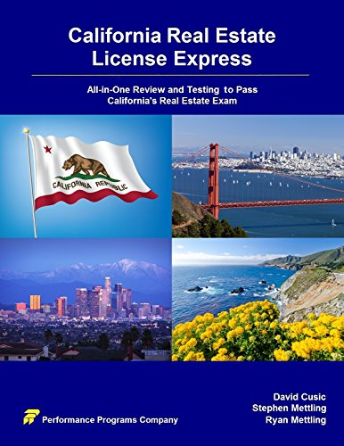 California Real Estate License Express: All-in-One Review and Testing to Pass California's Real Estate Exam (Express Law Contract Law)