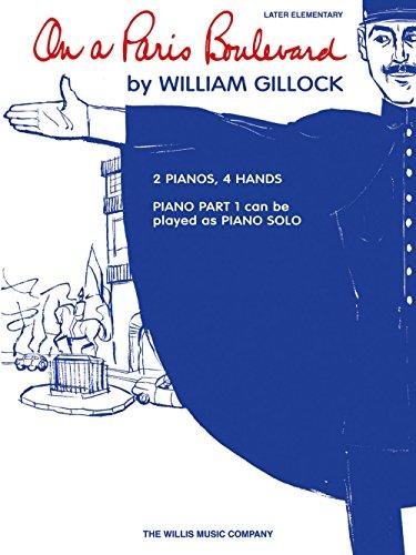Willis Music On a Paris Boulevard Willis Series by William Gillock (Level Late Elem)