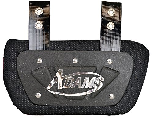 Adams Usa Shoulder Pads - Adams USA VS500 Varsity Back Plate for Shoulder Pads Black, Adult