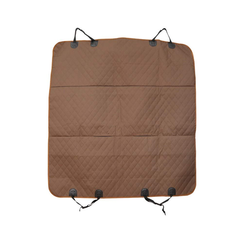 JIAHUA Brown Pet Supplies Quilted Cargo Pet Cover And Dog Predector Cargo Lining With Side Predector