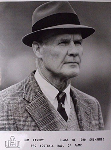 Tom Landry (d.2000) Coach Dallas Cowboys Texas 8x10 Press File Photo (2000 Press Photo)
