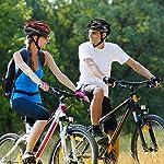 earlyad-Casco-per-Bicicletta-Protezione-di-Ciclismo-sicura-Regolabile-Ventilazione-del-Casco-Copricapo-da-Motociclista-con-luci-per-Casco-da-Bici-per-Adulti