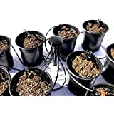 12-Plant Home Grow Kit - Great Starter Hydroponics Drip Irrigation Kit! - Includes Tubing, Emitters, Manifold, Etc. (Plastic Pots Sold Separately)