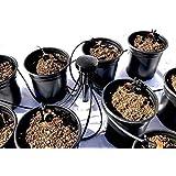 12-Plant Home Grow Kit - Great Starter Hydroponics Drip Irrigation Kit! - Includes Tubing, Emitters, Manifold, Etc. (Plastic