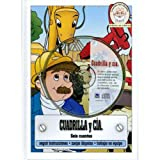 Cuadrilla y Cia.-Seis cuentos y CD (Spanish Edition) Hardcover Kids Book-Short Stories for Kids-Moral Stories for Kids-Funny Stories for Kids-Bedtime ... for Kids-Perseverance-Team work, Helping