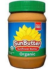 SunButter Sunflower Butter Allergen Free All Natural Alternative to Peanut Butter (16 Ounce Jars Pack of 6)