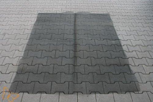 Unbekannt Marderschutz Gitter Material PE HD Kunststoff zuschneidbar