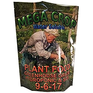MEGA Crop (9.9kg) Hydroponic Soil Nutrient Fertilizer