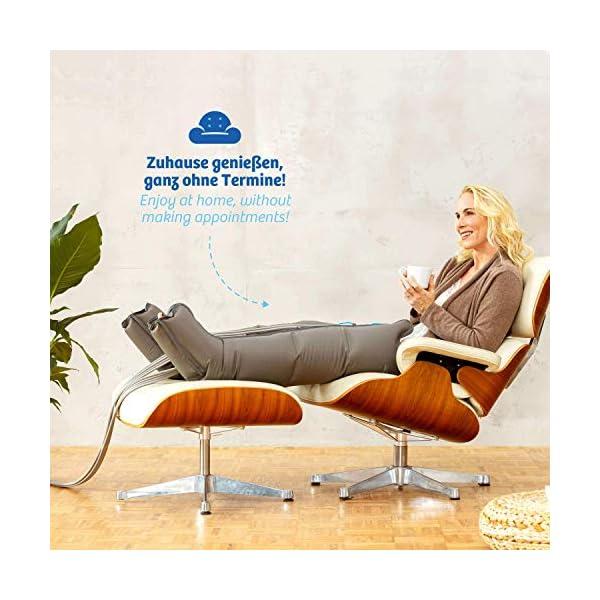 Vein Angel 8 Premium apparecchio per massaggi con gambali, 8 camere d'aria disattivabili, pressione & durata facilmente… 2 spesavip