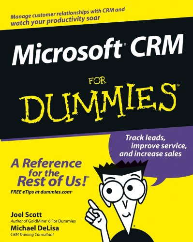 Download Microsoft CRM For Dummies Pdf