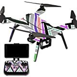 MightySkins Protective Vinyl Skin Decal for 3DR Solo Drone Quadcopter wrap cover sticker skins Colorful Chevron