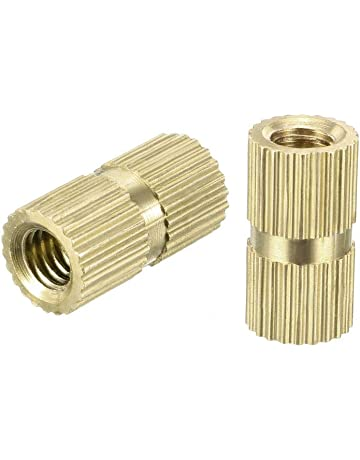 Rubber Well Rivet Rawl Nuts with Brass Threaded Insert