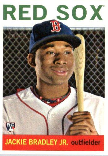 (2013 Topps Heritage Baseball Rookie Card #H511 Jackie Bradley Jr. Mint)