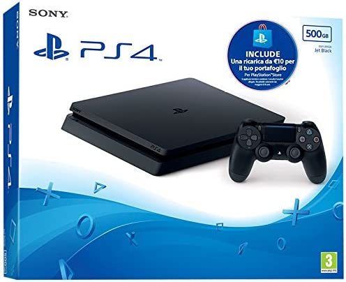 Sony Playstation 4 Slim 500GB + PS Live Card Negro Wifi ...