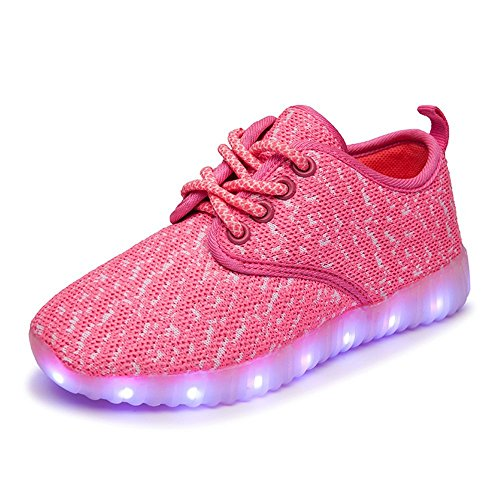 Shoes That Light Up (Denater Boys & Girls & Kids & Toddlers LED Light Up Shoes Flashing Sneakers)