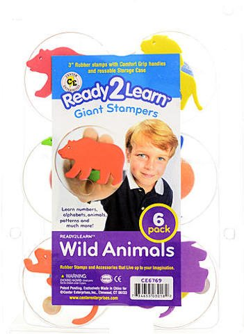 Center Enterprises Ready2Learn Giant Stampers (Wild Animals) 1 pcs sku# 1846132MA