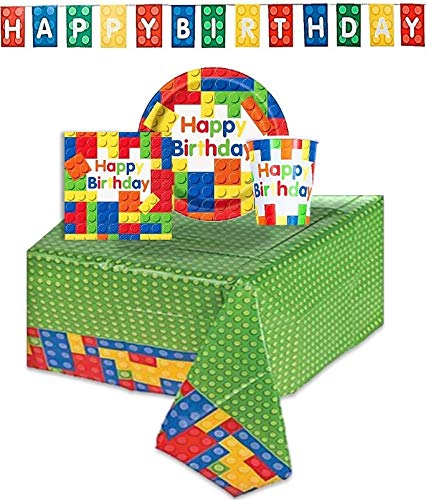 Building Blocks Birthday Party T...