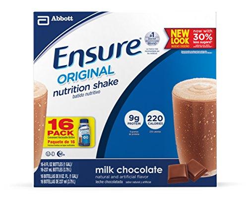 Assurez-Bouteilles, chocolat au lait, 8 onces, bouteilles 16 de comptage