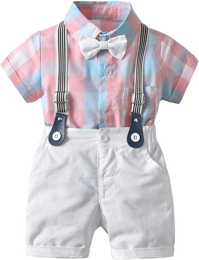 Berimaterry Conjuntos Camisa Bebé Niño, Ropa Recién Nacidos Bebe ...